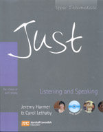 Just Listening and Speaking Upper Intermediate book cover