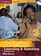 Real Listening & Speaking 3 book cover