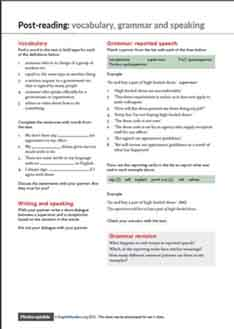 Gender descrimination ESL worksheet 3