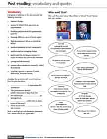US Election ESL worksheet 4